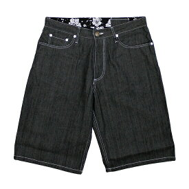 【 送料無料 】【 Nine Rulaz Line / ナインルーラーズ 】 Nine Rulaz Denim Shorts ( ナインルーラーズ デニムショーツ ) / ブラック ( ナインルーラーズ ショートパンツ )