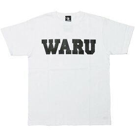 サンタスティック Tシャツ メンズ レディース SANTASTIC WARU T-Shirt 半袖 ロゴ マンガ 漫画 TOKYO TRIBE 井上三太 コットン プレゼント ホワイト S-XXL E32003