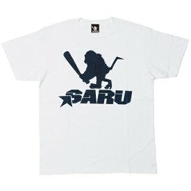 サンタスティック Tシャツ メンズ レディース SANTASTIC SARU STAR T-Shirt 半袖 ロゴ マンガ 漫画 TOKYO TRIBE 井上三太 コットン プレゼント ホワイト S-XXL E32004
