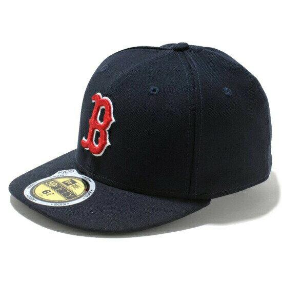 ニューエラ キッズ NEW ERA Kid's 59FIFTY MLB On-Field ボストン・レッドソックス ゲーム キャップ CAP 帽子 子供用 11449306 チームカラー