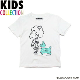 サンタスティック キッズ SANTASTIC! × RODY KID'S Hasheem Tee Tシャツ 半袖 キッズ 子供服 ハシーム RODY ホワイト