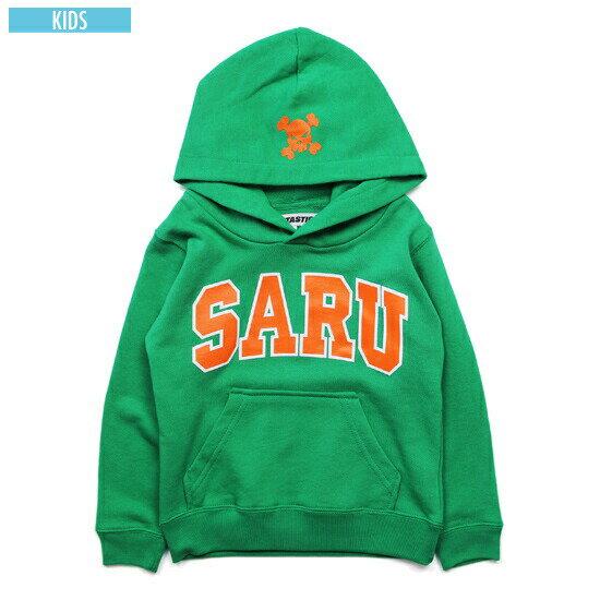 送料無料 サンタスティック SANTASTIC KIDS Arch Saru Parka キッズ パーカー スウェット 子供服 TOKYOTRIBE グリーン