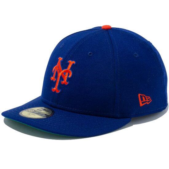 ニューエラ キャップ NEW ERA LP 59FIFTY ニューヨーク メッツ キャップ 帽子 ダークロイヤル×オレンジ 11248200