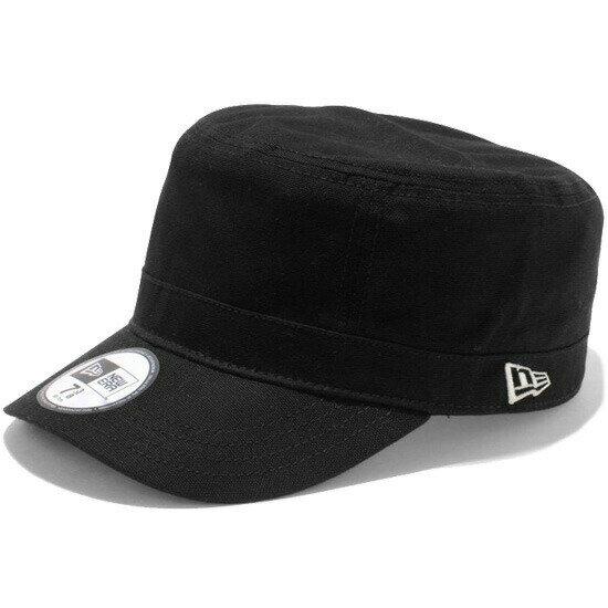 ニューエラ NEW ERA WM-01 ダックコットン ワークキャップ 帽子 11135293 ブラック×ホワイトフラッグ