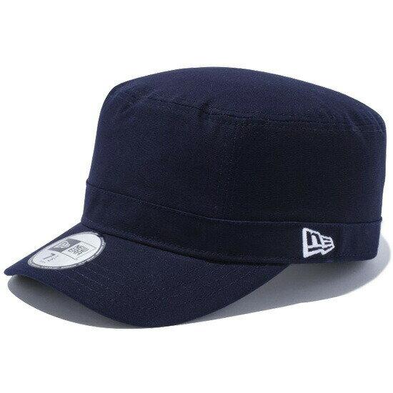 ニューエラ NEW ERA WM-01 ダックコットン ワークキャップ 帽子 11308354 ネイビー×ホワイトフラッグ