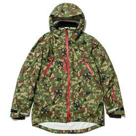 送料無料 NINE RULAZ LINE ナインルーラーズ Militant Brigade Snow Jakcet スノージャケット AFD ICE GEAR コラボ GORE-TEX NRAW16-028 迷彩 カモフラ