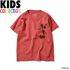 LAFAYETTE ラファイエット DISNEY ディズニー Minnie Mouse Kids Tee 子供服 キッズ ベビー 半袖 Tシャツ ミニーマウス LFT16SP020 レッド