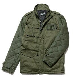 送料無料 ナインルーラーズ NINE RULAZ LINE M-65 ジャケット ミリタリージャケット アーミー NRAW16-015 オリーブ