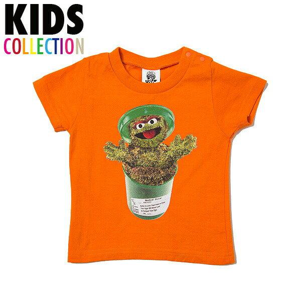 NINE RULAZ LINE ナインルーラーズ キッズ Kid's Medical Monster Tee 半袖 Tシャツ 子供服 NRKSS17-003 オレンジ