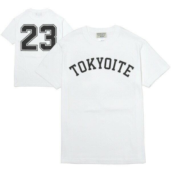 7UNION 7ユニオン TOKYOITE Tee 半袖 Tシャツ ユニセックス IAVW-017C ホワイト