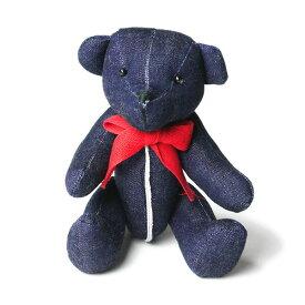 INTERBREED インターブリード SELVEDGE SUPPLY Indigo Teddy Bear テディベア ぬいぐるみ インディゴブルー