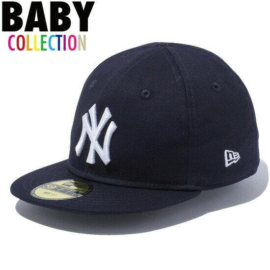 ニューエラキッズ NEW ERA KIDS ニューヨーク・ヤンキース キャップ 帽子 赤ちゃん ベビー 子供服 KID'S My 1st 59FIFTY Cap 11225744 ネイビー×ホワイト