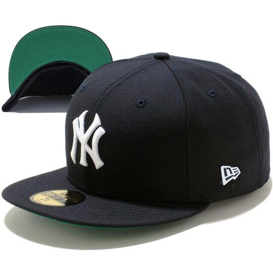 ニューエラ NEW ERA 59FIFTY CT ニューヨーク・ヤンキース キャップ 帽子 CAP クーパーズタウン 11347468 ネイビー×ホワイト ケリーアンダーバイザー