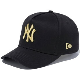 ニューエラ キャップ 送料無料 メンズ レディース NEW ERA 9FORTY D-Frame ニューヨーク・ヤンキース ニューエラキャップ newera cap 帽子 おしゃれ プレゼント ブラック/ゴールド 55.8cm〜59.6cm 11433999