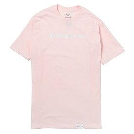 DIAMOND SUPPLY CO ( ダイヤモンドサプライ ) Essentials Tee 半袖 Tシャツ A17DMPA24 ピンク