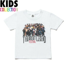 NINE RULAZ LINE ナインルーラーズ キッズ Kid's The Festival Tee 半袖 Tシャツ 子供服 NRKAW17-001 ホワイト