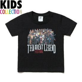 NINE RULAZ LINE ナインルーラーズ キッズ Kid's The Festival Tee 半袖 Tシャツ 子供服 NRKAW17-001 ブラック
