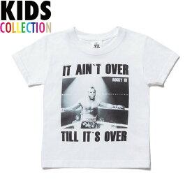NINE RULAZ LINE ナインルーラーズ キッズ Kid's Mr Pain Tee 半袖 Tシャツ 子供服 ROCKY3 NRKAW17-003 ホワイト