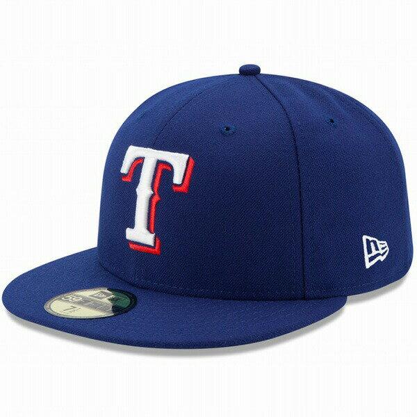 ニューエラ キャップ NEW ERA 59FIFTY MLB On-Field テキサス・レンジャーズ ゲーム キャップ 帽子 CAP 11449334 ブルー