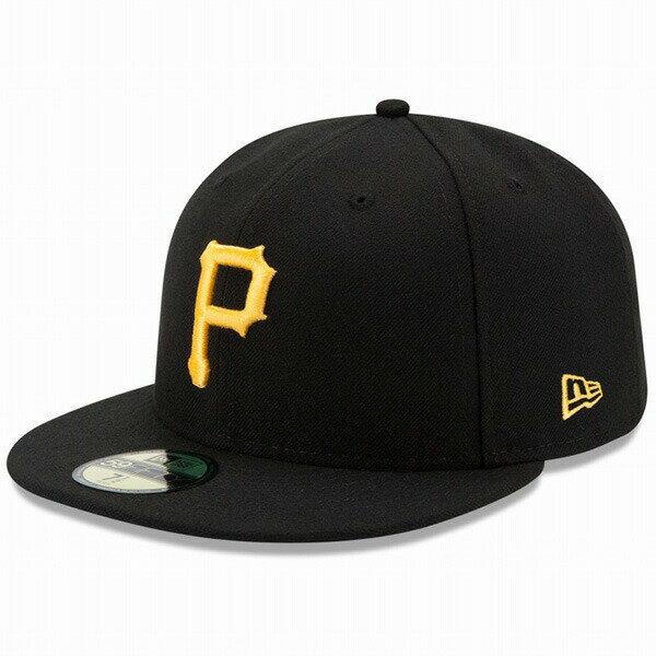 ニューエラ キャップ NEW ERA 59FIFTY MLB On-Field ピッツバーグ・パイレーツ ゲーム キャップ 帽子 CAP 11449347 ブラック