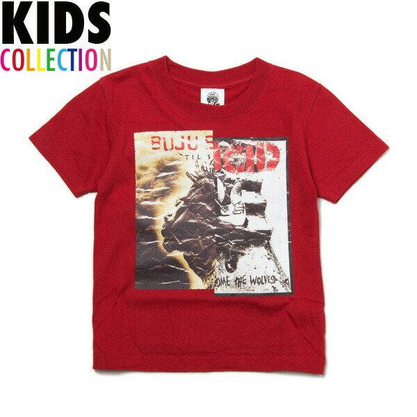 NINE RULAZ LINE ナインルーラーズ キッズ Kid's Musical Unification Tee 半袖 Tシャツ 子供服 NRKSS17-006 レッド