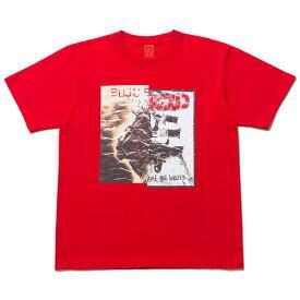 NINE RULAZ LINE ナインルーラーズ Musical Unification Tee 半袖 Tシャツ NRSS17-043 レッド
