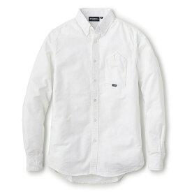 送料無料 INTERBREED インターブリード Cigarette Pocket Oxford Shirt 長袖 シャツ オックスフォードシャツ ホワイト