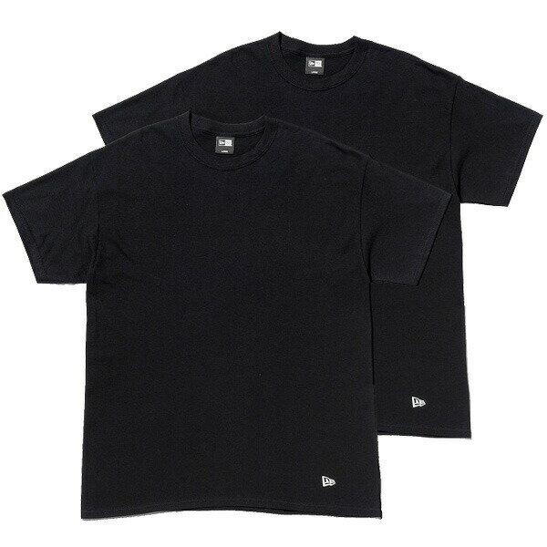 NEW ERA ニューエラ キャップ 2-Pack Tee Tシャツ 半袖 2枚組 11229178 ブラック