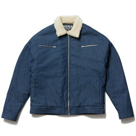 送料無料 NINE RULAZ LINE ナインルーラーズ Denim Boa Jacket ボア メンズ デニムジャケット 長袖 NRAW17-028 インディゴ