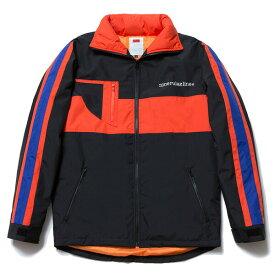 送料無料 NINE RULAZ LINE ナインルーラーズ Nylon Sports Jacket スポーツジャケット メンズ アウター NRAW17-033 ブラック