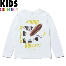 NINE RULAZ LINE キッズ ナインルーラーズ Kid's Sound Bullet L/S Tee 長袖 Tシャツ ロンT 子供服 NRKAW17-007 ホワイト