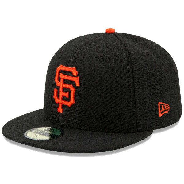 ニューエラ NEW ERA 59FIFTY MLB On-Field サンフランシスコ・ジャイアンツ ゲーム キャップ 帽子 CAP 11449343 ブラック