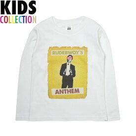 NINE RULAZ LINE キッズ ナインルーラーズ Kid's Rudebwoy BOB L/S Tee 長袖 Tシャツ ロンT 子供服 NRKAW17-005 ホワイト