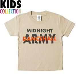 ナインルーラーズ キッズ Tシャツ 半袖 子供服 NINE RULAZ Kids' Dancehall Army Tee NRKSS18-004 カーキ
