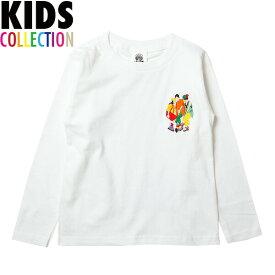 ナインルーラーズ キッズ ロンT Kids' No Scrub L/S Tee 長袖 Tシャツ 子供服 NINE RULAZ LINE NRKSS18-002 ホワイト