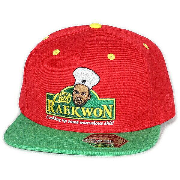 7UNION 7ユニオン The Chef Snapback Cap スナップバックキャップ ユニセックス 帽子 IAXY-SP01 レッド×グリーン
