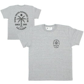 7ユニオン Tシャツ 半袖 7UNION Seven Union Boarding Club Tee IPVW-005C ヘザーグレー