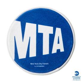 インターブリード フロアマット MTA × INTERBREED Logo Floor Mat IB18SS-05 ブルー