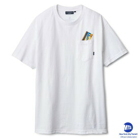 インターブリード Tシャツ MTA コラボレーション INTERBREED Metro Card Pocket Tee IB18SS-22 ホワイト
