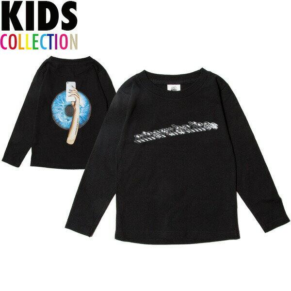 ナインルーラーズ キッズ 長袖 Tシャツ 子供服 NINE RULAZ Kids' SNS L/S Tee NRKSS18-003 ブラック