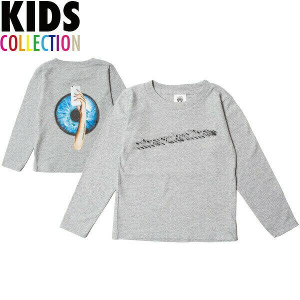 ナインルーラーズ キッズ 長袖 Tシャツ 子供服 NINE RULAZ Kids' SNS L/S Tee NRKSS18-003 グレー