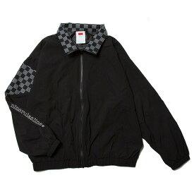 ナインルーラーズ ジャケット トラックジャケット チェッカーフラッグ NINE RULAZ Fly Track jacket NRSS18-007 ブラック