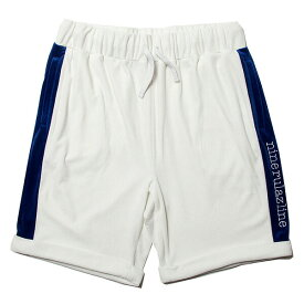 ナインルーラーズ パンツ ショーツ ベロア セットアップ NINE RULAZ Velour Shorts NRSS18-027 ホワイト