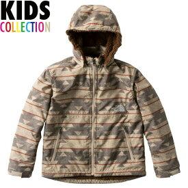 ノースフェイス キッズ ジャケット ノベルティーコンパクトノマドジャケット 送料無料 THE NORTH FACE Kids Novelty Compact Nomad Jacket ノースフェイスキッズ northface 男の子 女の子 誕生日 NPJ71857 ネイティブベージュ