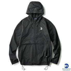 インターブリード アノラック コラボレーション INTERBREED × MTA Uniform Logo Anorak IB18AW-22 ブラック