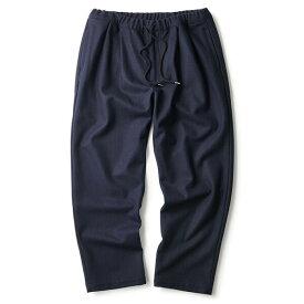 インターブリード イージーパンツ INTERBREED Dad Wool Trousers IB18AW-38 NAVY ネイビー