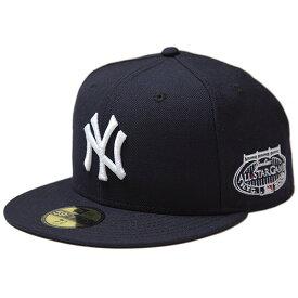 ニューエラ キャップ メンズ レディース NEW ERA 59FIFTY MLB ALL STAR GAME 2008 ニューヨーク・ヤンキース オールスター 帽子 チームカラー ネイビー 11781655