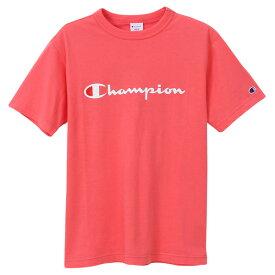 チャンピオン Tシャツ メンズ CHAMPION ベーシック チャンピオンロゴ おしゃれ ブランド プレゼント ピンク S-XXL C3-P302