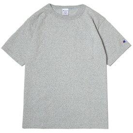 チャンピオン Tシャツ メンズ 送料無料 CHAMPION T1011 ポケット付きTシャツ ポケT MADE IN USA おしゃれ ブランド プレゼント オックスフォードグレー S-XL C5-B303