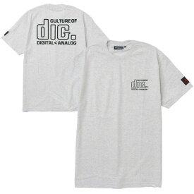 インターブリード ディスクユニオン Tシャツ INTERBREED DISKUNION Culture Lovers S/S Tee コラボレーション 半袖 アッシュ M-XXL IB19SS-03